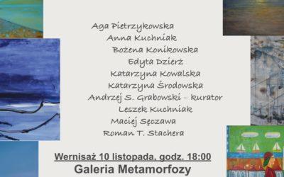 """Wystawa malarstwa """"Otwarcie"""" 10.11.2017 – 09.12.2017"""