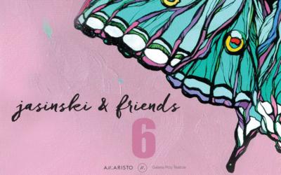 """Wystawa zbiorowa """"Jasinski & friends"""", 23.04.2018 – 26.05.2018"""