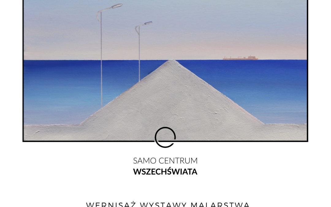 """Wystawa indywidualna, """"Niebiesko/Blue"""", Samo Centrum Wszechświata, 25.04 – 27.06.2019"""
